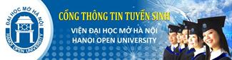 Cổng thông tin tuyển sinh Viện Đại học Mở HN